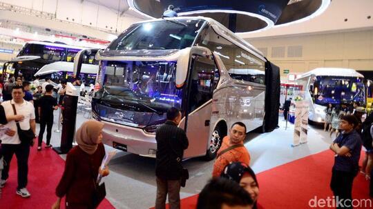 Indonesia Jadi Tuan Rumah Pameran Bus Internasional