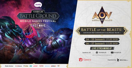 KASKUS Battleground Season 4: Kompetisi AOV yang Berhadiah 240 Juta Rupiah!