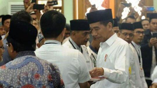 Diteriaki 'Bohong' dan 'Hoaks' saat Pidato, Ini Kata Jokowi