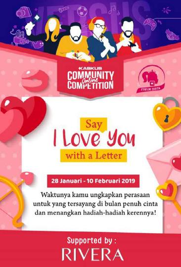 [COC 2019] Say I Love You With A Letter Season 3