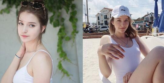 """ANGELINA DANILOVA,Selebgram Cantik """"KOREA"""" Yang Disebut BIDADARI RUSIA!"""
