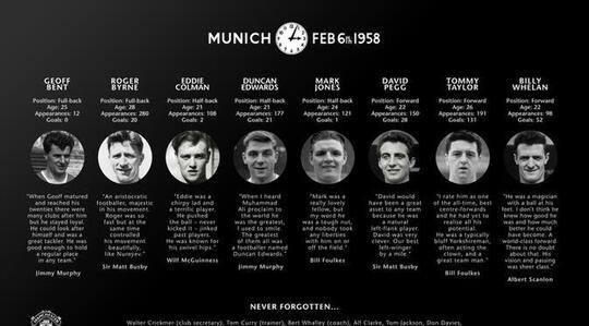 Tragedi Munich Dan Persahabatan Manchester United Dengan Real Madrid