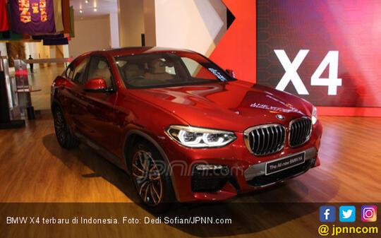 Jaga Eksklusivitas, BMW X4 Terbaru Hanya Dijual Terbatas 20 Unit
