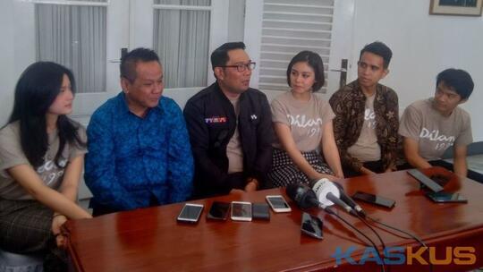 Ridwan Kamil Bakal Jadikan 24 Februari 2019 Sebagai 'Hari Dilan'