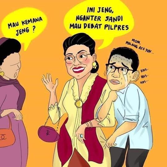 Mien Uno Marah Soal Sandiwarauno Kini Muncul Sandiwaraanakmami Kaskus
