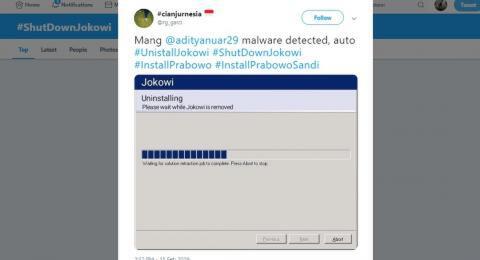 Tagar #ShutDownJokowi Jadi Trending di Twitter, Ada Apa?