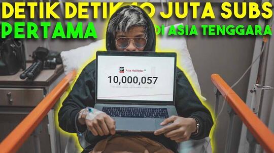 Benarkah Atta Halilintar Menjadi YouTuber Pertama Ber-Subs 10 Juta di Asia Tenggara ?