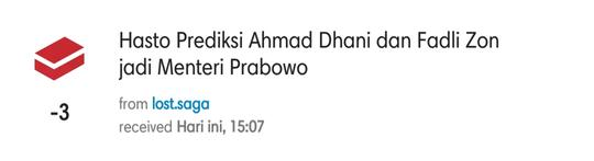 Hasto Prediksi Ahmad Dhani dan Fadli Zon jadi Menteri Prabowo