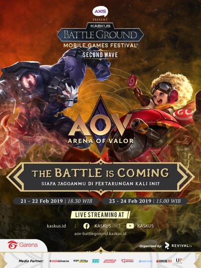 KASKUS Battleground Season 4 - Wave 2 Segera Dimulai, Ayo Daftarkan Tim Kalian