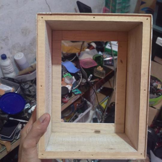 Siluetnya Bikin Adem, Light Box Paper Craft Buatan Sendiri
