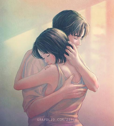 Love Story : Kaulah Cinta Sejatiku (true story)