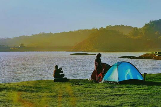 Explore Kulon Progo! Jangan Lewatkan Serunya Camping Di Waduk Sermo