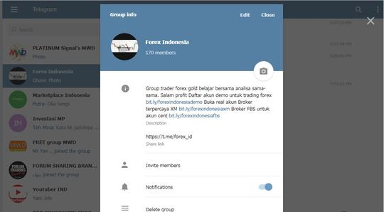 Yang merasa Trader Wajib Join Group telegram ini