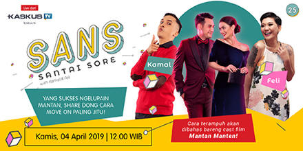 Cast Mantan Manten Bagi-bagi Resep Move On, Cuma di SANS!