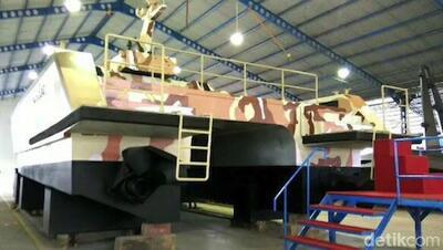 Gak Disangka, Kapal Tempur CANGGIH Buatan Banyuwangi Indonesia Ini Dipesan Rusia