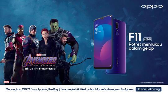 Dapetin OPPO dan Tiket Nonton 'Avengers: Endgame' Gratisan? Ikutin Kuisnya aja Gan!