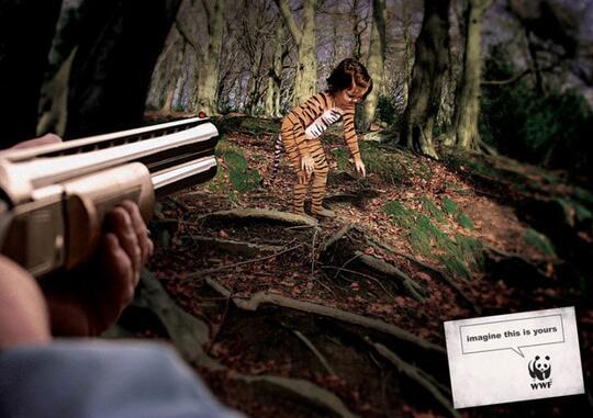 Iklan-Iklan Ini Akan Membuka Mata Kita, Tentang Hewan Yang Telah Diambang Kepunahan