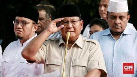 """Pidato """"Kemenangan"""" Prabowo"""