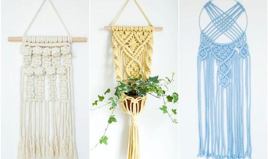 Makrame, Sebuah Seni Merangkai Simpul Tali yang Kian Diminati