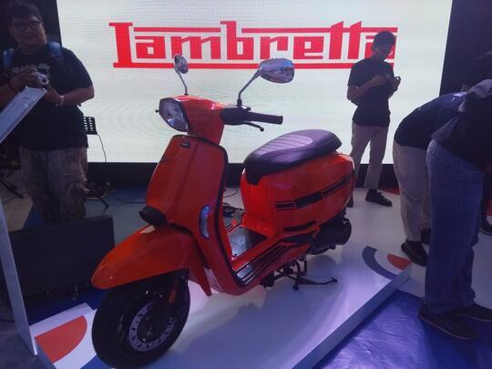 Skuter Lambretta Matic Resmi Masuk Indonesia
