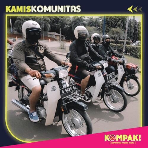 Kamis Komunitas Menciduk Sekumpulan Pecinta Astrea di Jakarta