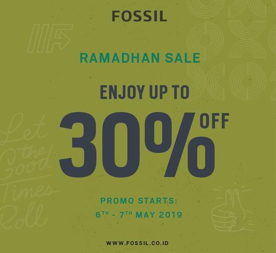 Diskon 30 Promo Ramadhan Fossil Official Store Kaskus