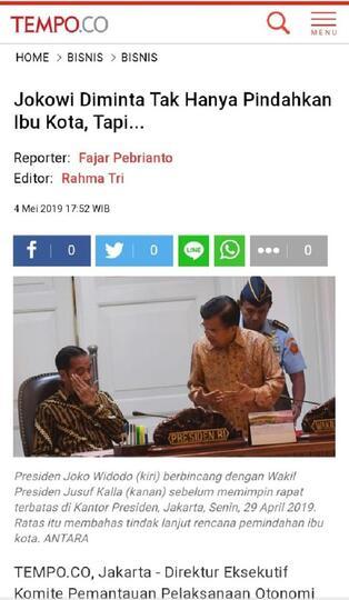 Benarkah Tempo Memuat Pernyataan Jokowi Bahwa Korban Meninggal Adalah Takdir?