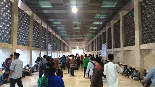 Ternyata, Begini Rasanya Buka Puasa Bersama di Masjid Istiqlal