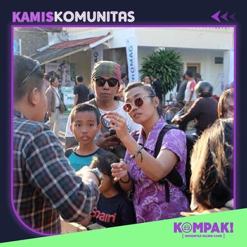 Kamis Komunitas Ngopi Bareng Komunitas Kopi Nusantara
