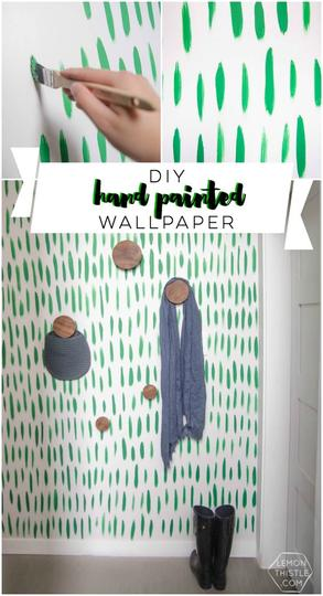 Wallpaper Dinding Kamar Gambar Menara Eiffel  10 cara gampang bikin wallpaper kamar bisa pakai lakban