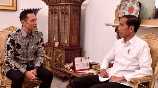 Jokowi dan AHY Ketemu Lagi, Sudah Dua Kali di Bulan Ini, Ada Apa ya?