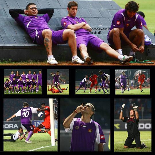 Mengenang Trisula Maut di Liga Indonesia