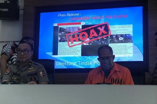 Penyebar Hoaks Ada Brimob dari China Minta Maaf