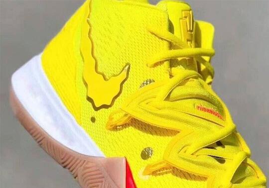 Sneakers Kuning Edisi SpongeBob, Kayak Apa tuh?