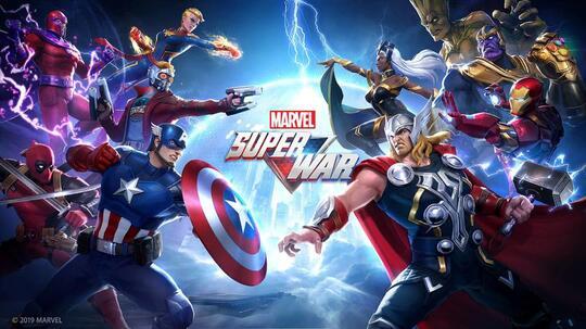 MARVEL SUPER WAR, MOBA Kok Avengers ?
