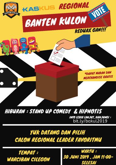 [UNDANGAN] Pemilihan Regional Leader Banten Kulon Periode 2