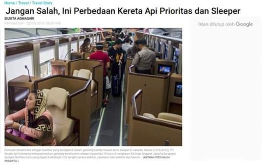 Benarkah Tiket Kereta Surabaya-Jakarta Mencapai Rp 1,5 Juta Membuat Rakyat Sengsara?