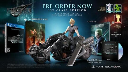 Gameplay Final Fantasy VII Remake Akhirnya Diperlihatkan