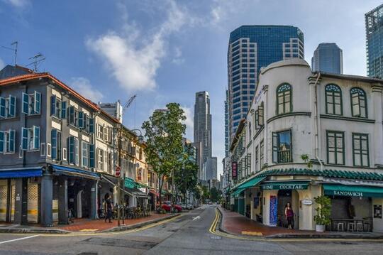Tangkap Sisi Lain Singapura Dari Balik Lensa di Kawasan Chinatown