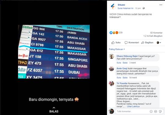 China Airlines Sudah Beroperasi Ke Makassar Kaskus