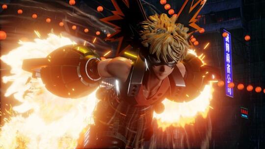 BOOM!!!, Bakugo dari My Hero Academia Resmi Ditampilkan