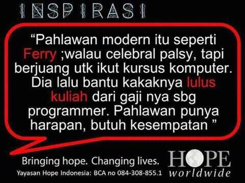 Hope Worldwide Indonesia, Terampil Digital - Life Changing Stories ...