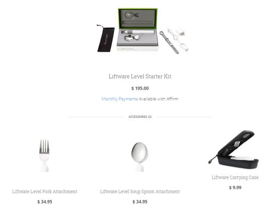 """Liftware, Sendok Unik dengan Fitur """"Stabilizer"""" yang Canggih"""