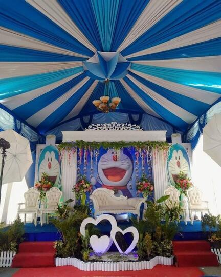 Mau Nikah Tema Doraemon Ini 16 Inspirasi Pernak Perniknya