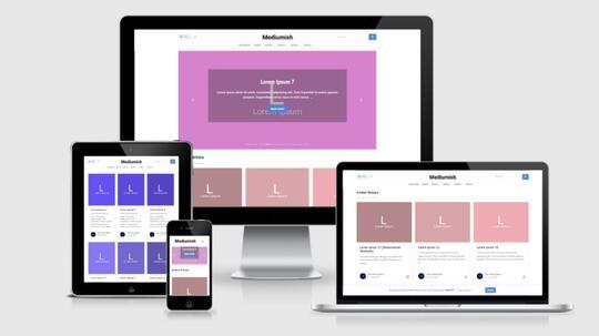 Download Template Blogger Mirip Website Terkenal Medium Com Gratis Kaskus