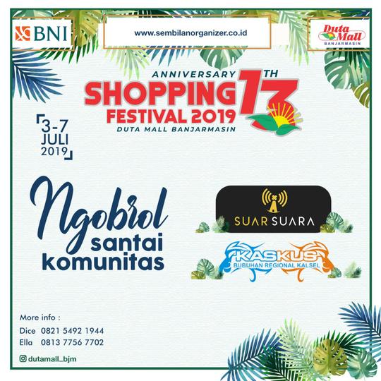 [INVITATION] Ngobrol Bareng Dan Mini Gathering Regional Kalimantan Selatan 2019