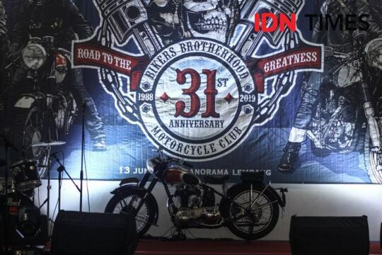 Bikers Brotherhood Duduk Perkara Dualisme Klub Motor Tua