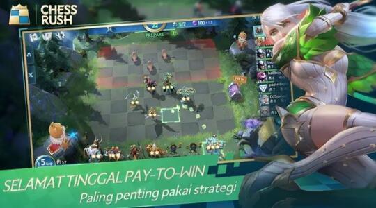 Tencent Luncurkan Chess Rush secara Global, Game Auto Battler yang Cepat & Adil