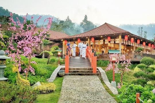 The Onsen Hotspring Destinasi Wisata Ala Jepang Di Kota