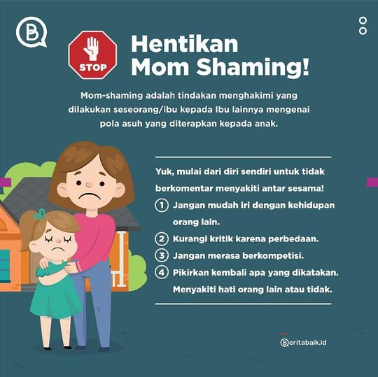Perilaku Mom-Shaming Berefek Buruk, Baik pada Korban maupun Pelaku